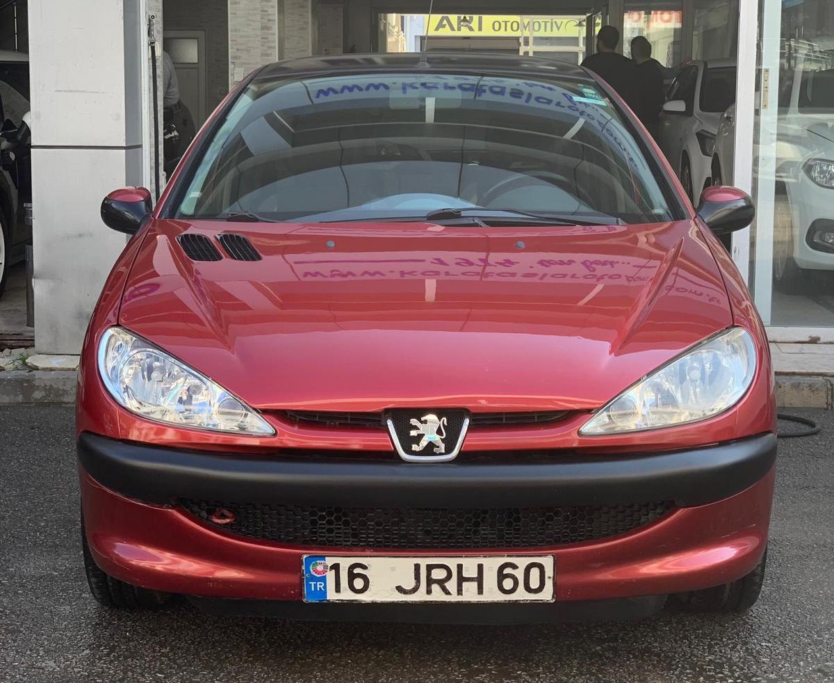 Peugeot 206 X-desıgn 2006 LPG/Benzin Manuel