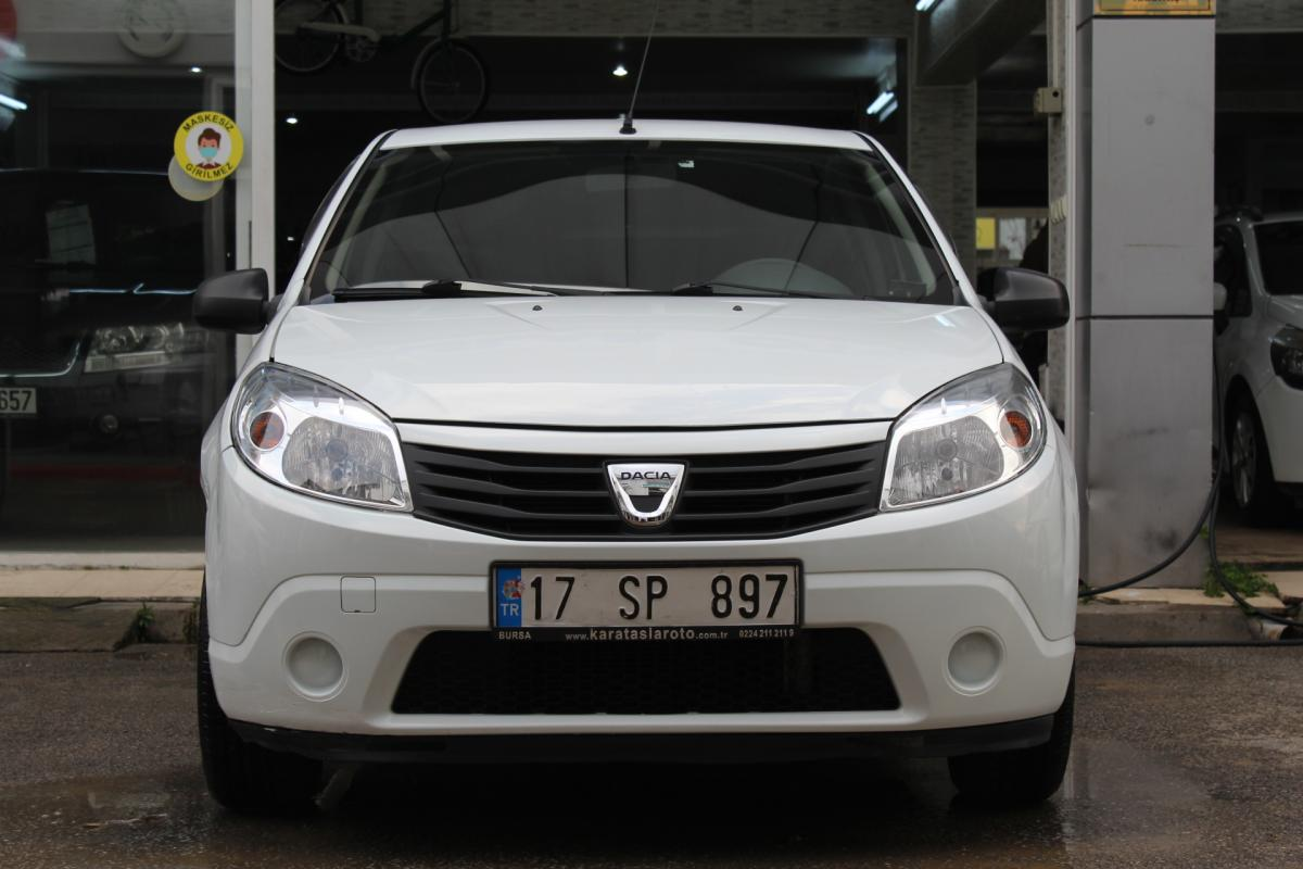 Dacia Sandero Ambiance 2010 Benzin Manuel